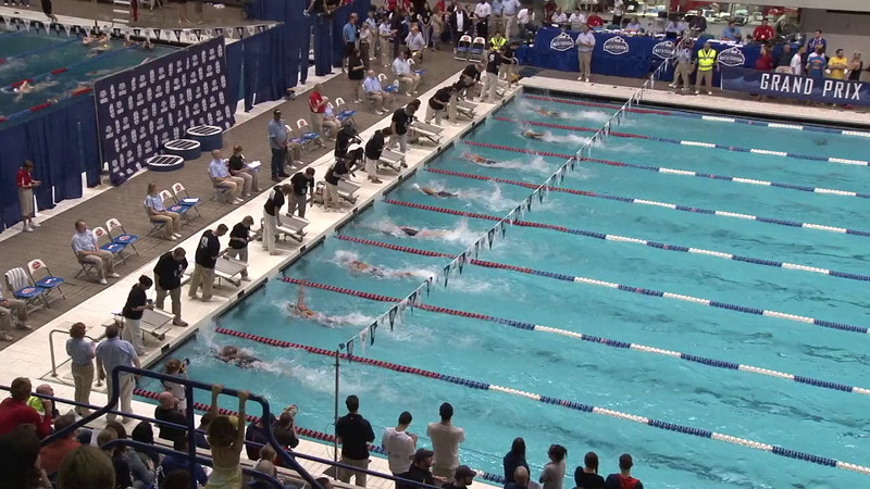 Women's 50 Freestyle Final C - 2012 Indianapolis Grand Prix