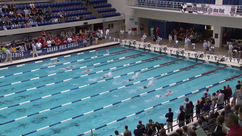 Women's 100 Breaststroke Final C - 2012 Indianapolis Grand Prix