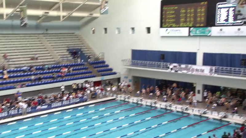 Men's 50 Freestyle Heat 10 - 2012 Indianapolis Grand Prix