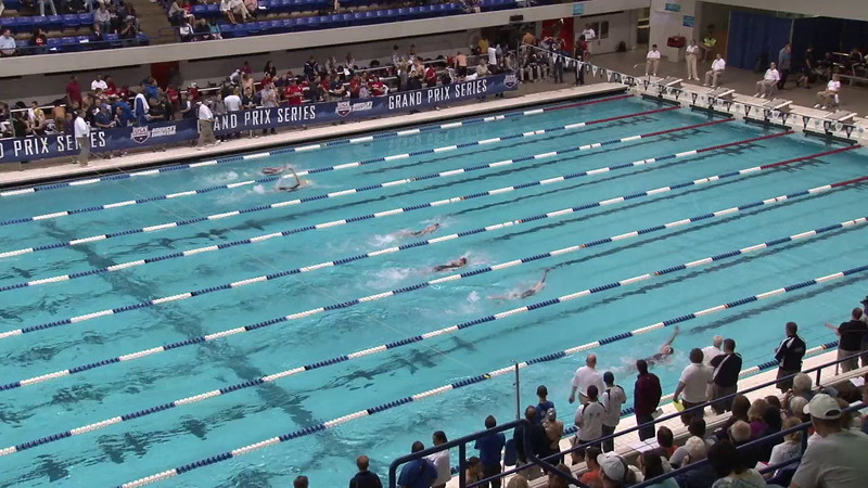 Women's 100 Backstroke Heat 09 - 2012 Indianapolis Grand Prix