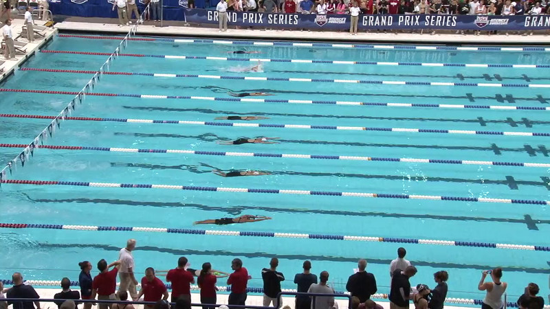 Women's 100 Breaststroke Heat 16 - 2012 Indianapolis Grand Prix