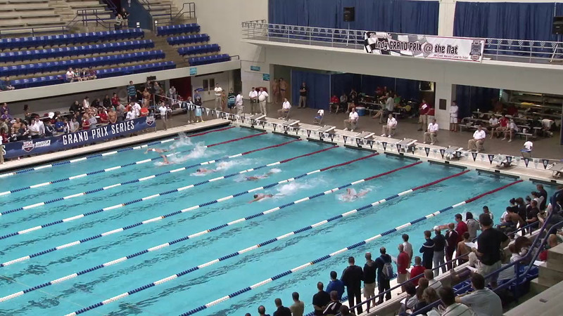Men's 100yd Freestyle Heat 20 - 2012 Indianapolis Grand Prix