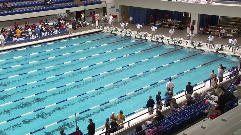 Women's 100 Breaststroke Heat 04 - 2012 Indianapolis Grand Prix
