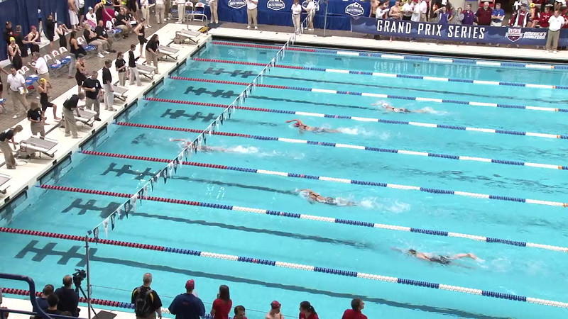 Women's 100yd Freestyle Heat 01 - 2012 Indianapolis Grand Prix