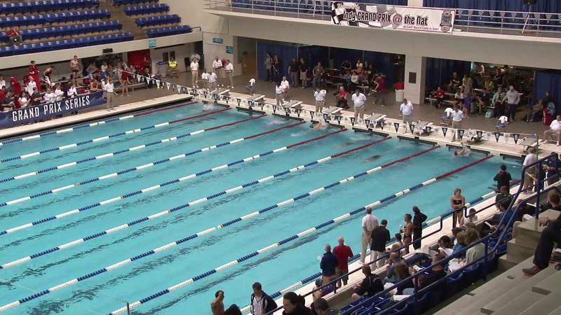 Women's 400 Medley Heat 07 - 2012 Indianapolis Grand Prix
