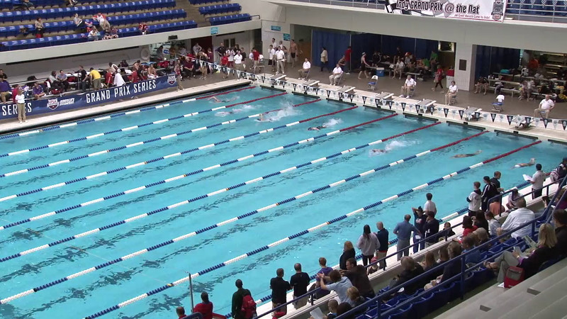 Women's 100yd Freestyle Heat 11 - 2012 Indianapolis Grand Prix