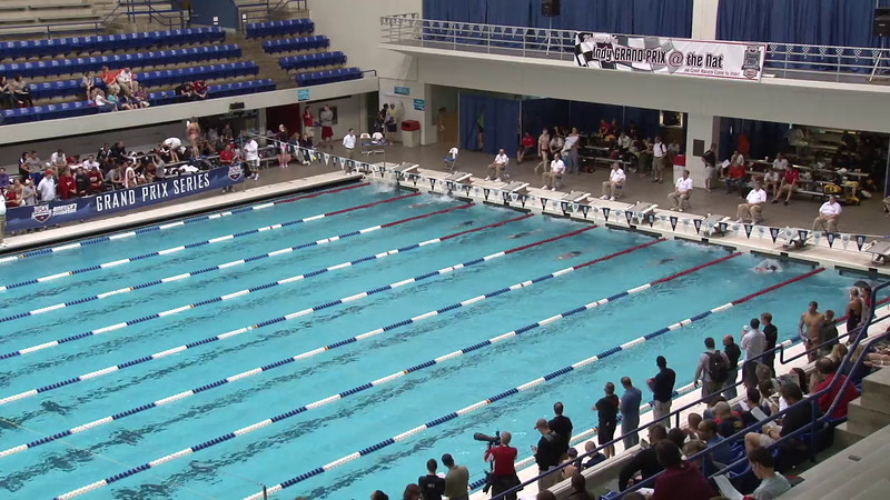 Women's 400 Freestyle Heat 12 - 2012 Indianapolis Grand Prix