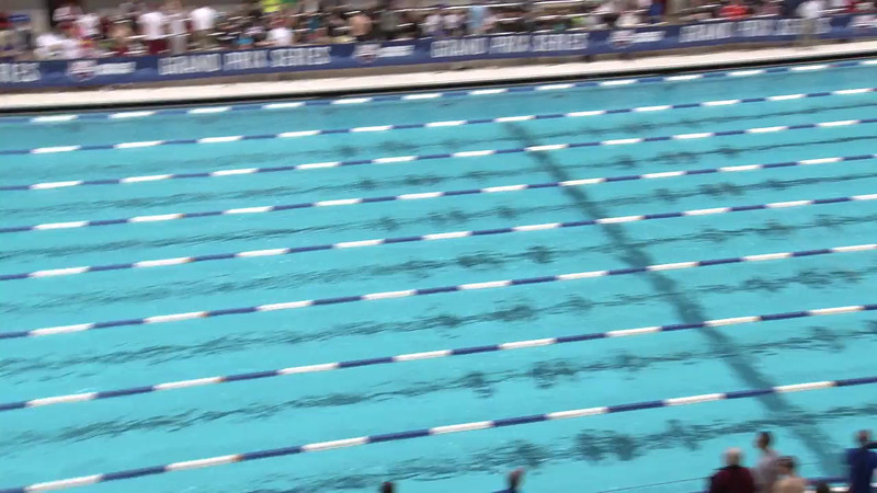Women's 50 Freestyle Heat 02 - 2012 Indianapolis Grand Prix