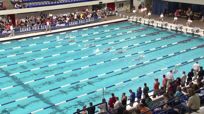 Women's 200 Backstroke Heat 08 - 2012 Indianapolis Grand Prix