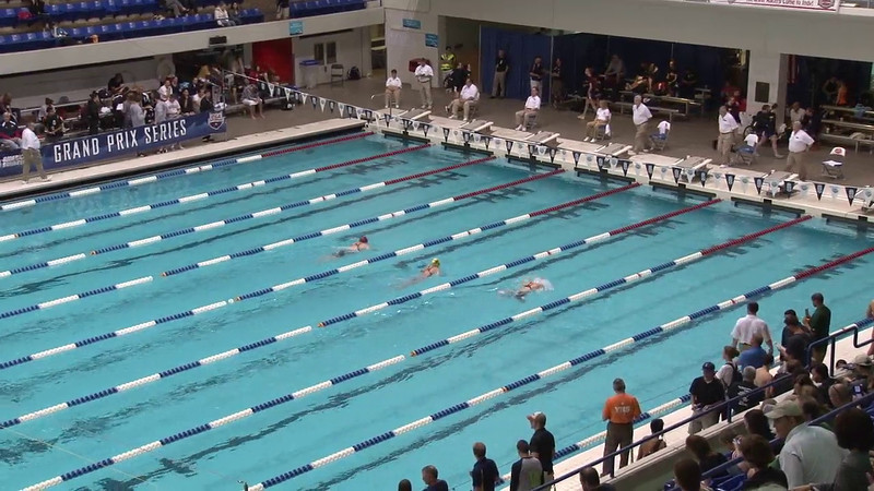Women's 100 Butterfly Heat 01 - 2012 Indianapolis Grand Prix