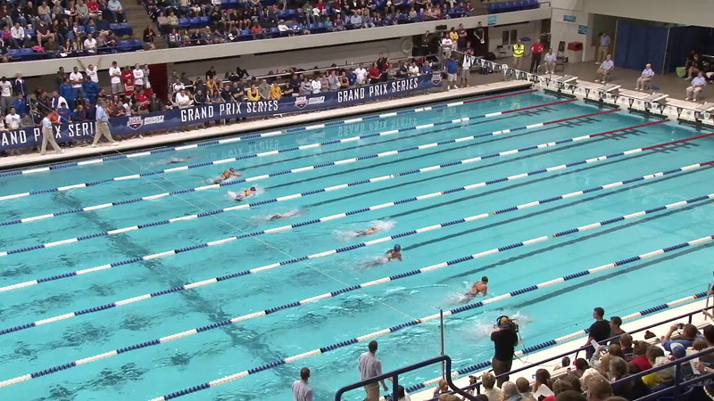 Women's 100 Butterfly Final A - 2012 Indianapolis Grand Prix