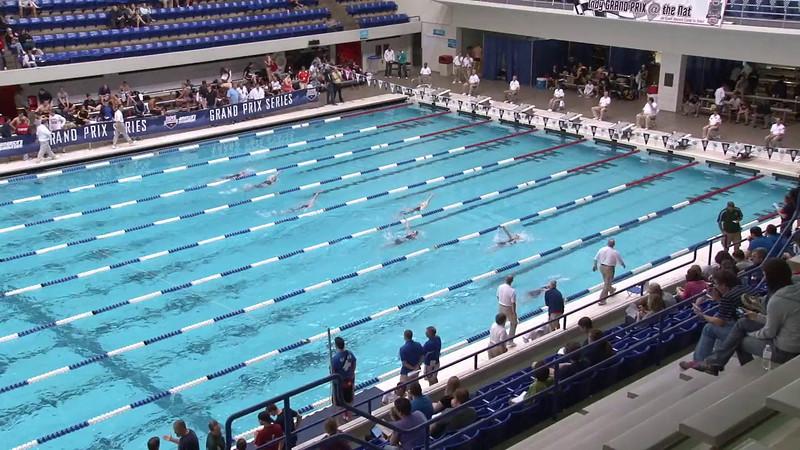 Women's 200 Backstroke Heat 03 - 2012 Indianapolis Grand Prix