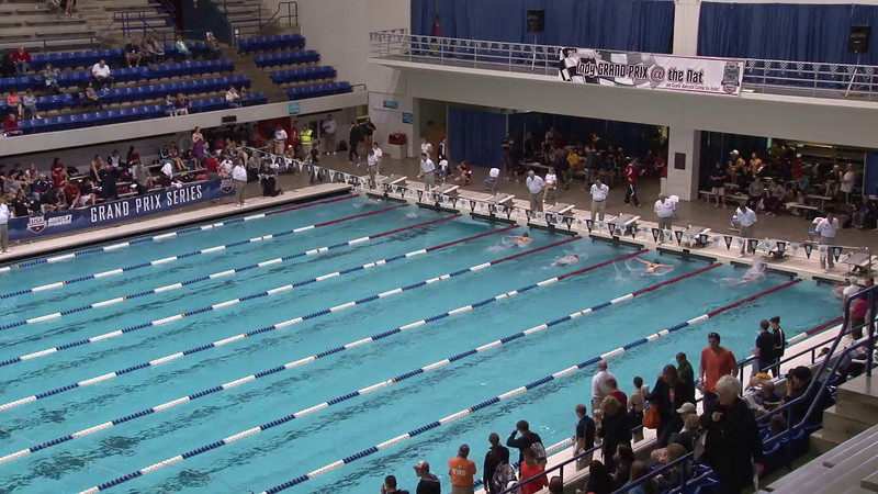 Women's 200 Breaststroke Heat 04 - 2012 Indianapolis Grand Prix