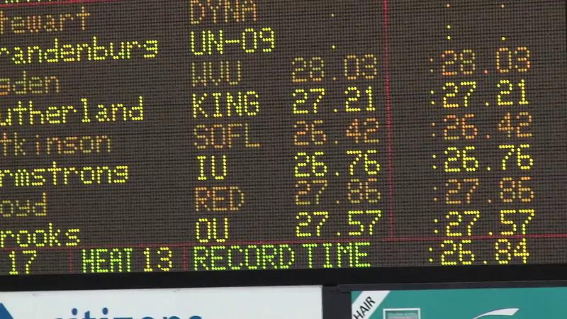 Women's 50 Freestyle Heat 13 - 2012 Indianapolis Grand Prix