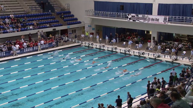 Women's 100 Breaststroke Final B - 2012 Indianapolis Grand Prix