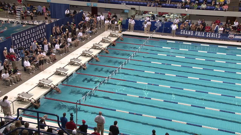 Women's 100 Backstroke Heat 10 - 2012 Indianapolis Grand Prix