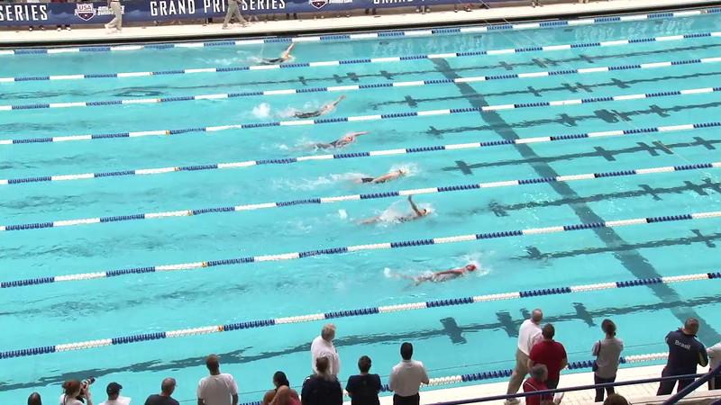 Women's 200 Backstroke Heat 11 - 2012 Indianapolis Grand Prix