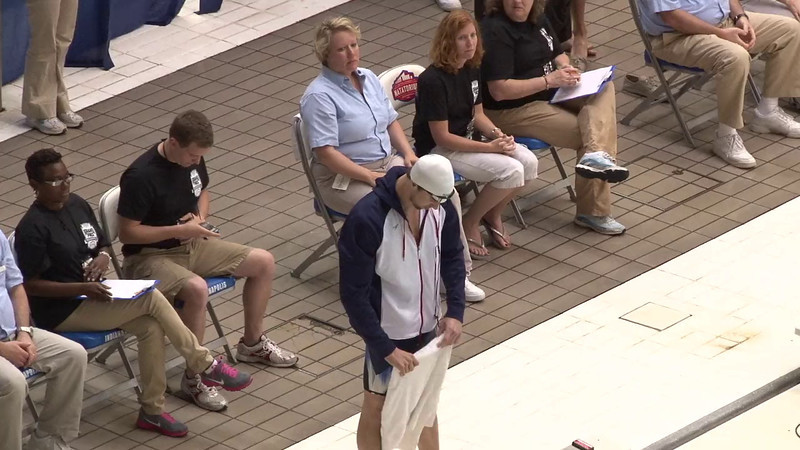 Men's 100yd Freestyle Final A - 2012 Indianapolis Grand Prix