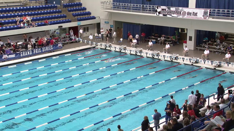 Women's 100yd Freestyle Heat 05 - 2012 Indianapolis Grand Prix