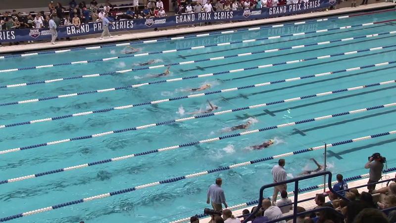 Women's 200 Backstroke Final C - 2012 Indianapolis Grand Prix