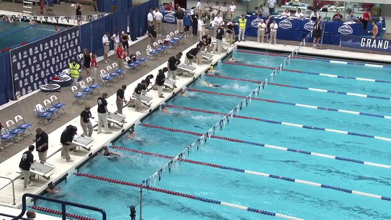 Women's 50 Freestyle Heat 09 - 2012 Indianapolis Grand Prix