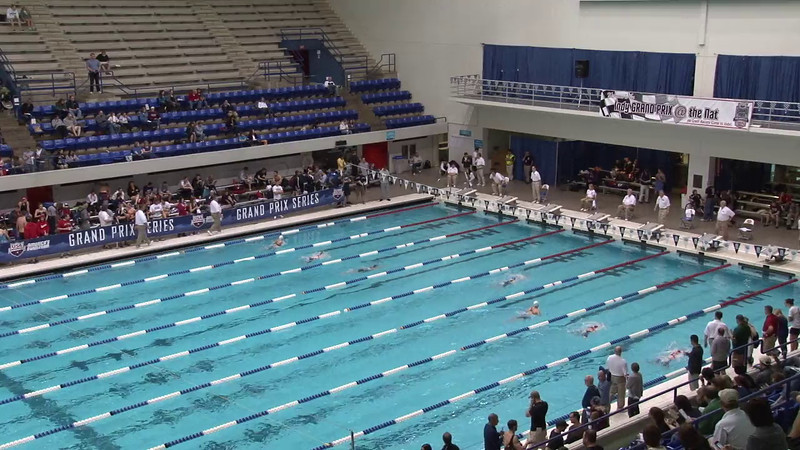 Women's 100 Butterfly Heat 05 - 2012 Indianapolis Grand Prix