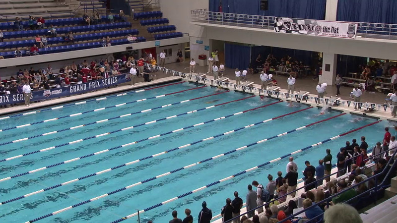 Women's 200 Breaststroke Heat 06 - 2012 Indianapolis Grand Prix