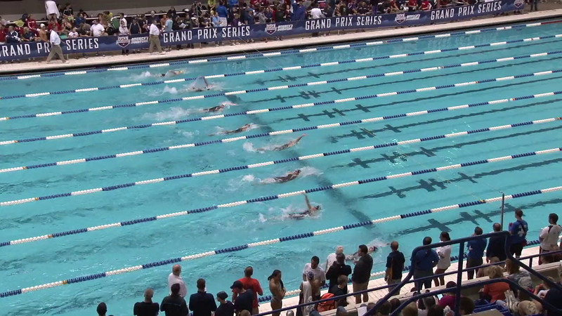 Women's 100 Backstroke Heat 08 - 2012 Indianapolis Grand Prix