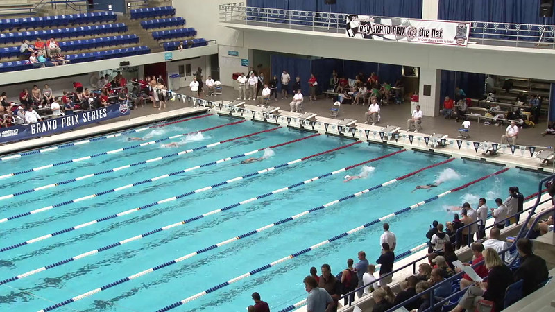 Men's 100yd Freestyle Heat 12 - 2012 Indianapolis Grand Prix
