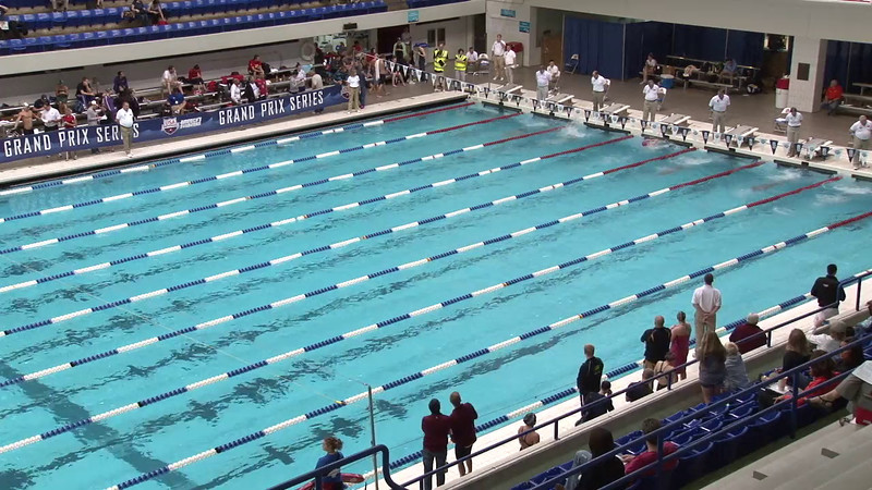 Men's 100 Breaststroke Heat 08 - 2012 Indianapolis Grand Prix