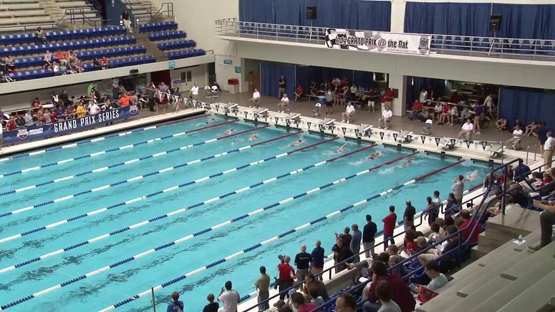 Women's 400 Freestyle Heat 10 - 2012 Indianapolis Grand Prix