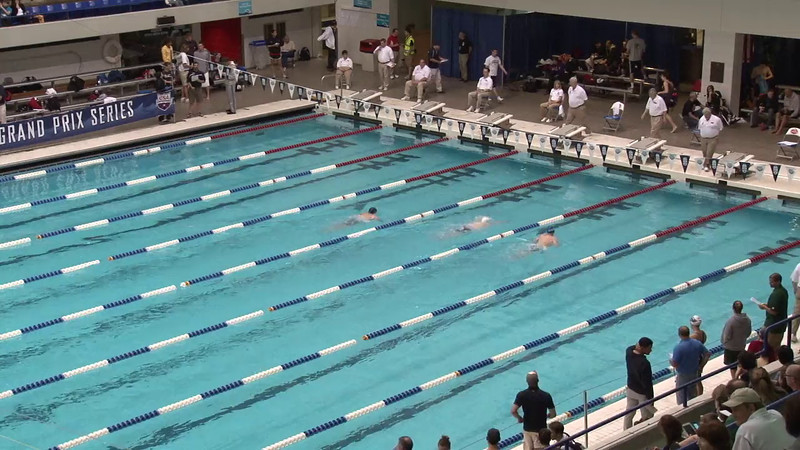Men's 100 Butterfly Heat 01 - 2012 Indianapolis Grand Prix