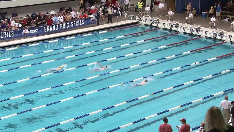 Men's 200 Backstroke Heat 01 - 2012 Indianapolis Grand Prix