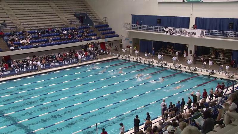 Men's 100 Backstroke Heat 07 - 2012 Indianapolis Grand Prix