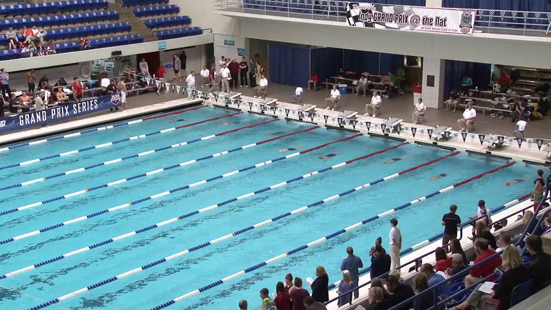 Women's 100yd Freestyle Heat 06 - 2012 Indianapolis Grand Prix