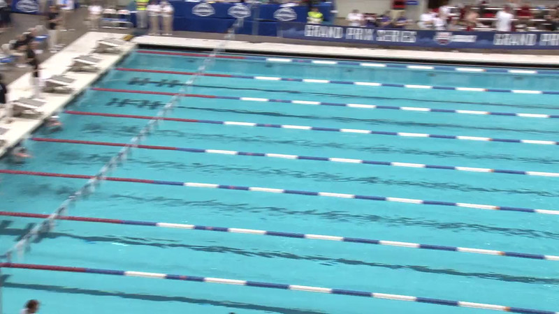 Women's 50 Freestyle Heat 01- 2012 Indianapolis Grand Prix