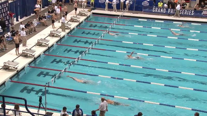 Men's 200 Medley Heat 05 - 2012 Indianapolis Grand Prix