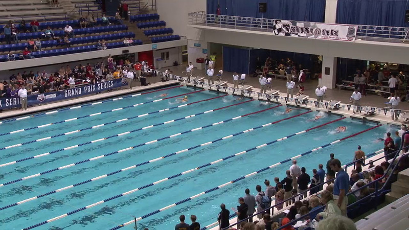 Women's 200 Breaststroke Heat 07 - 2012 Indianapolis Grand Prix