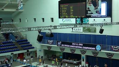 E05 Women's 800m Freestyle Heat 09 - 2012 Speedo National Championships