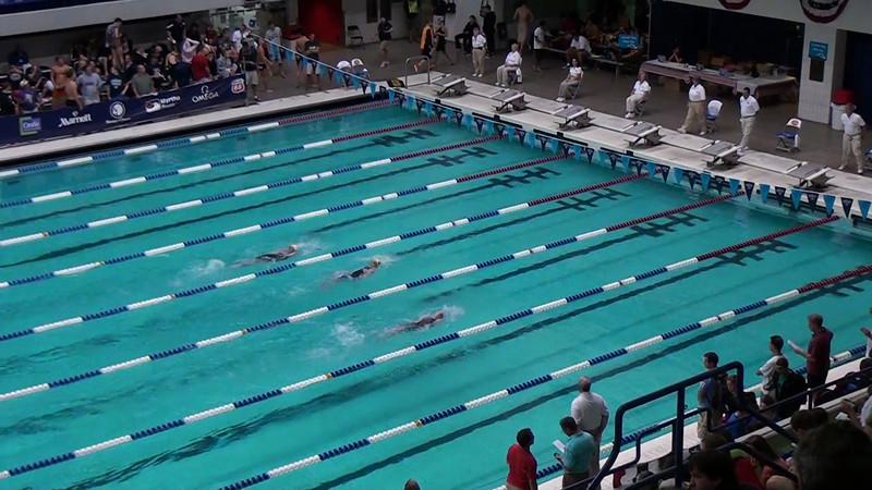 E11 Men's 200m Backstroke Heat 01 - 2012 Speedo National Championships