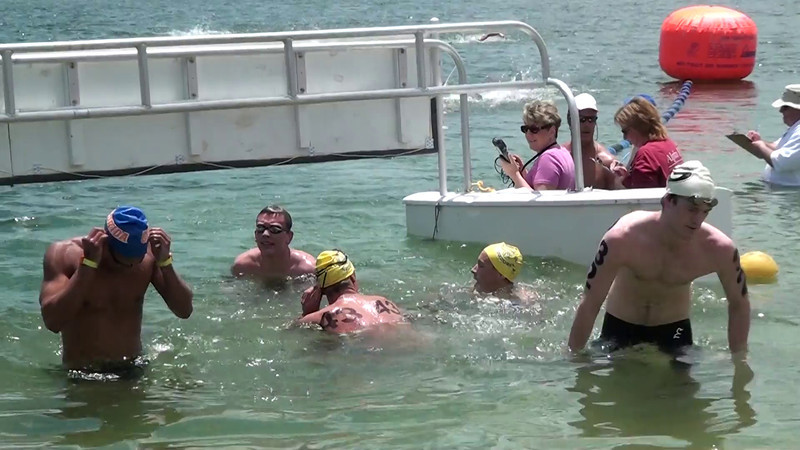 Men's 10k Finish from Shore