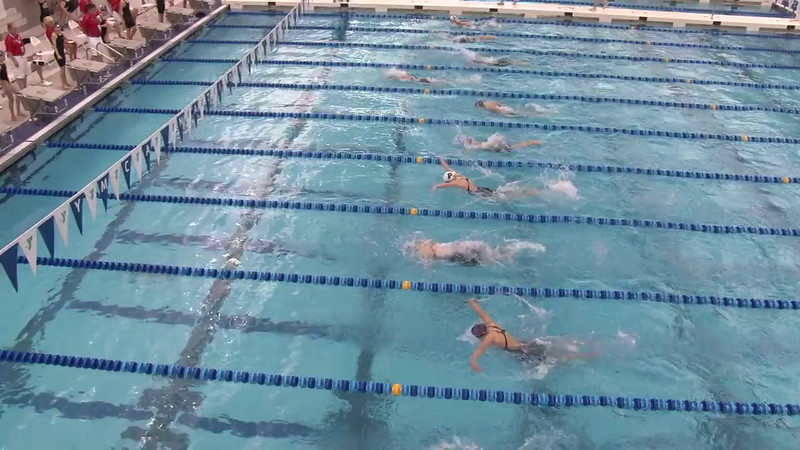 Women's 400 Medley Heat 10 - 2012 Short Course YMCA National Championships