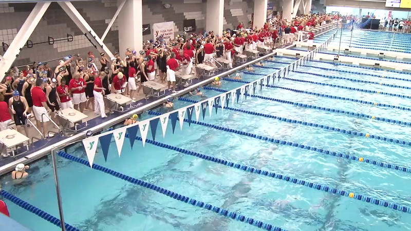 Women's 50 Freestyle Heat 06 - 2012 Short Course YMCA National Championships