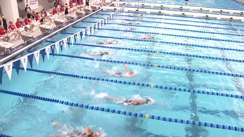 Women's 500 Freestyle Heat 04 - 2012 Short Course YMCA National Championships