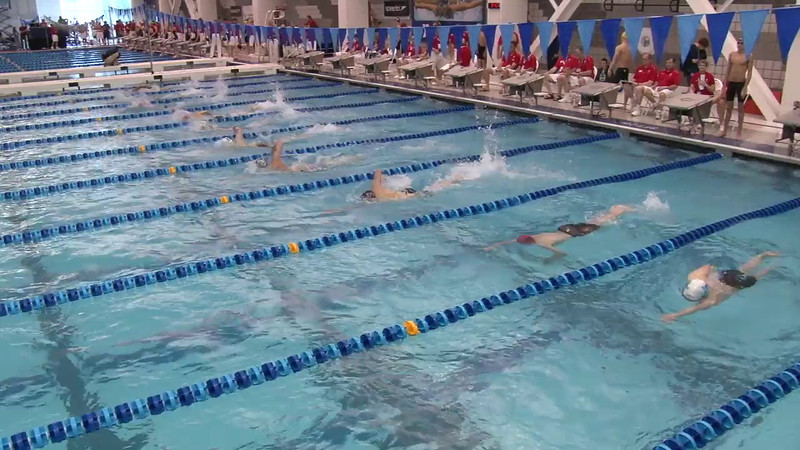 Men's 500 Freestyle Heat 02 - 2012 Short Course YMCA National Championships