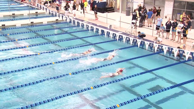Women's 1650 Freestyle Heat 04 - 2012 Short Course YMCA National Championships