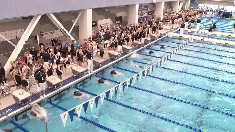 Women's 400 Medley Relay Heat 04 - 2012 Short Course YMCA National Championships