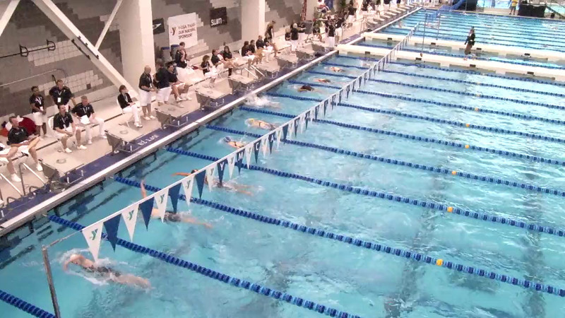 Women's 1000 Freestyle Heat 02 - 2012 Short Course YMCA National Championships