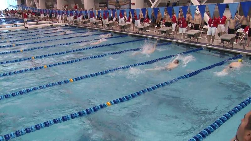 Men's 100 Backstroke Heat 06 - 2012 Short Course YMCA National Championships