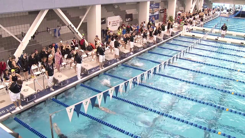 Women's 200 Breaststroke Heat 02 - 2012 Short Course YMCA National Championships